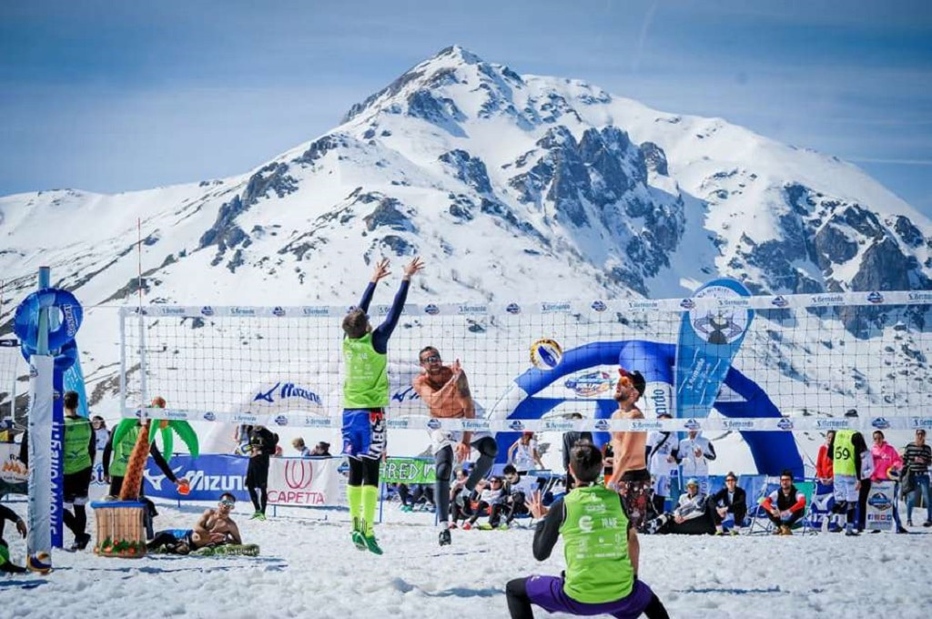 Snow Volley Italia foto