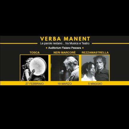Accademia teatrale Arotron - Verba Volant locandina
