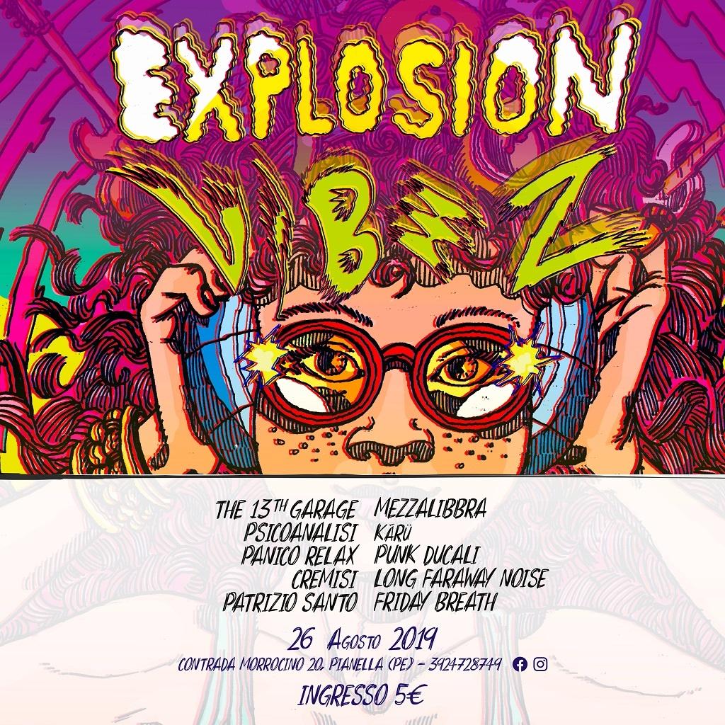 Explosion Vibez locandina