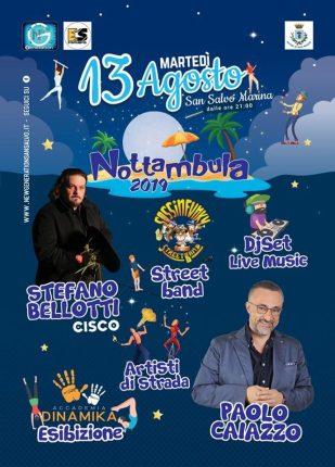 """A San Salvo Marina """"Nottambula"""" con Cisco e Paolo Caiazzo"""