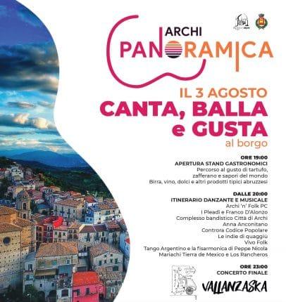 """Al via la seconda edizione di """"Archi panoramica"""""""