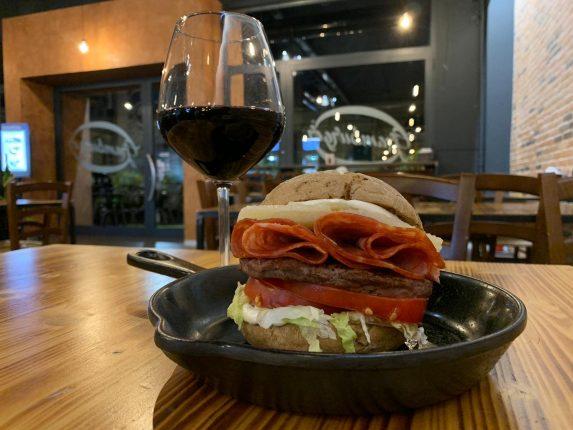 Wineburger in Love