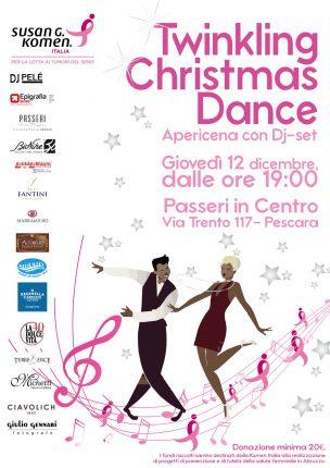 """Twinkling Christmas Dance"", apericena con Dj-set a Pescara"