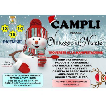 Arriva il villaggio di Natale a Campli