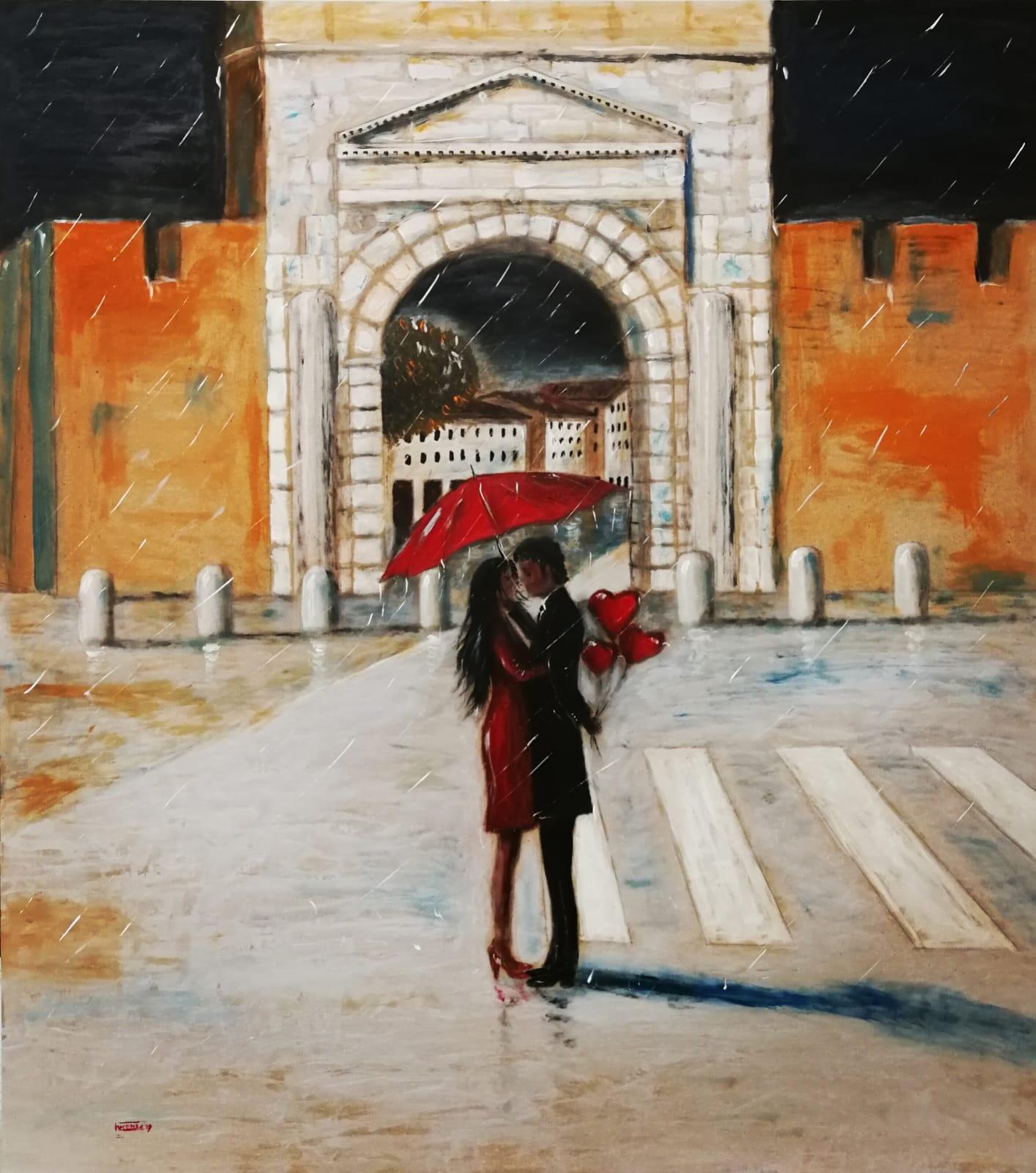 A Sulmona la Serie Rain di Elio Lucente