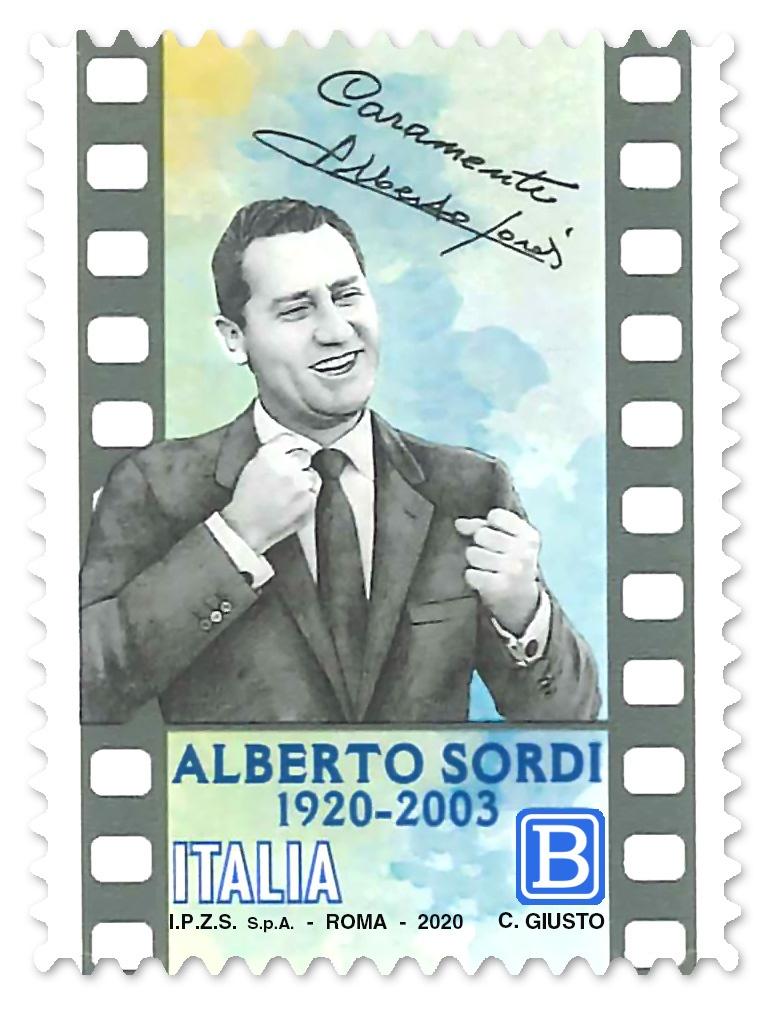 Anche in Abruzzo Poste Italiane celebra i 100 anni di Alberto Sordi