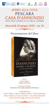 """A Pescara la presentazione del libro """"D'Annunzio intimo e segreto"""""""