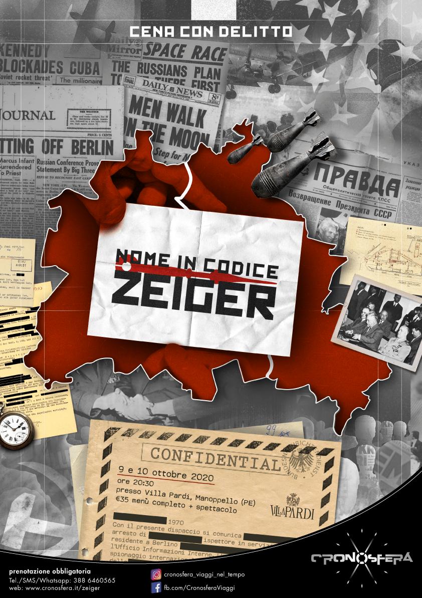 'Nome in codice Zeiger', Villa Pardi si immerge nella Guerra Fredda