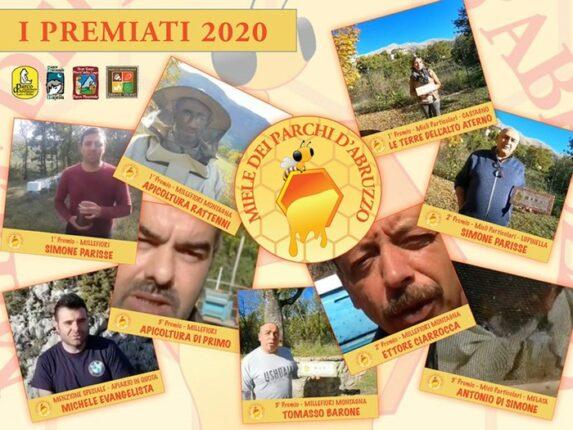Selezionati i migliori mieli dei Parchi d'Abruzzo 2020
