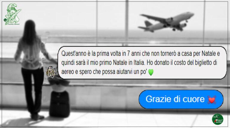 Dona soldi al Gruppo Alpini G. Tirone Sulmona, il bel gesto di Katrina